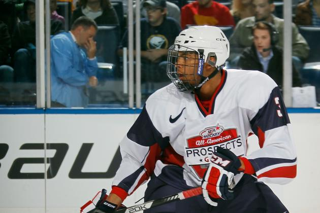 2013 NHL Draft Order: Lottery Sets Up Ideal Potential Situation for Seth Jones