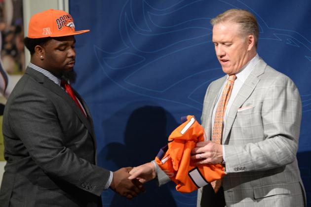Elway: Draft Fell Well for Us