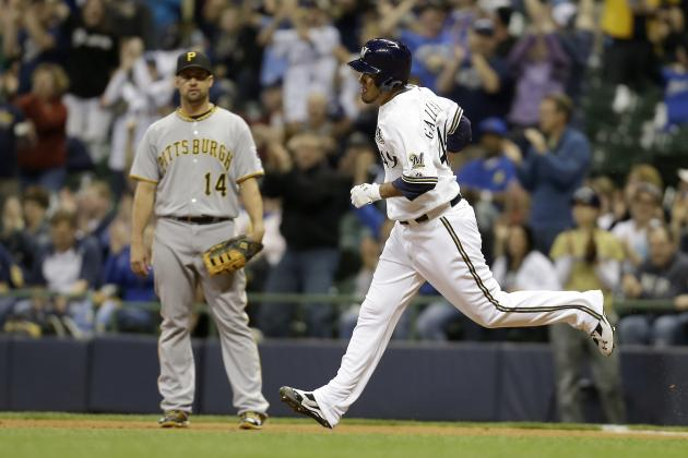 Brewers Hit Five Homers to Beat Pirates