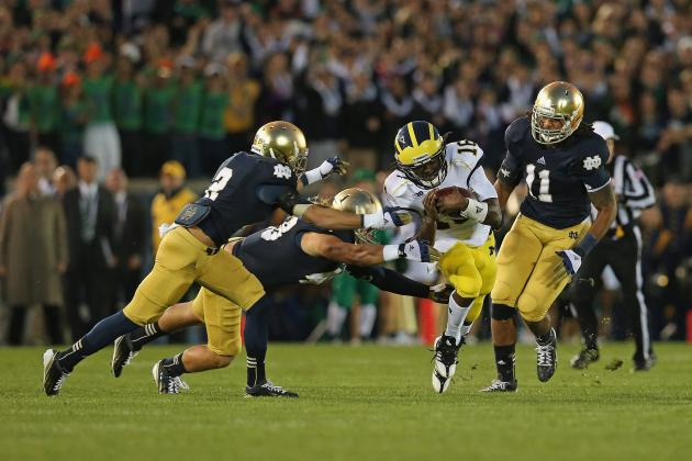 Notre Dame in Prime Time at Michigan, Purdue