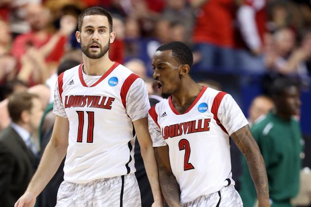Russ Smith, Luke Hancock to Be 2013-14 Louisville Basketball Co-Captains