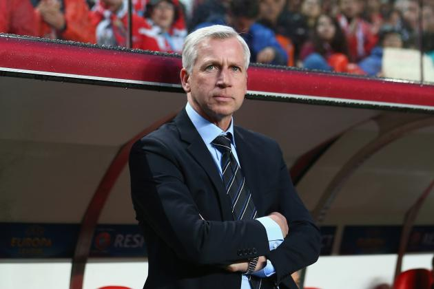 Newcastle Boss Alan Pardew Insists He Should Remain in Charge at St James Park