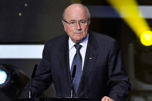 Sepp Blatter Under Fire for Bribery Culture