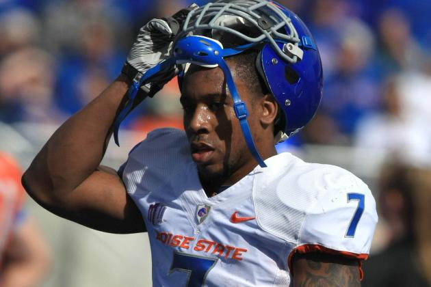Former Boise State Running Back Harper Signs with 49ers