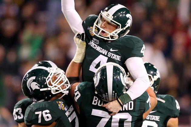 Michigan State Shut out of ESPN's Big Ten Prime-Time TV Schedule