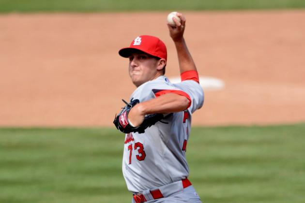 Righty Maness Joins Cards Bullpen