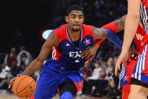 Video: Kyrie Plays Pickup Hoops in NJ, Shows Off Dunks