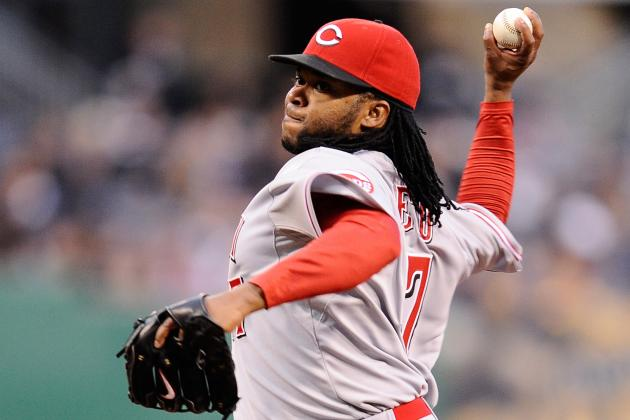 Bullpen Session Goes Well for Cueto