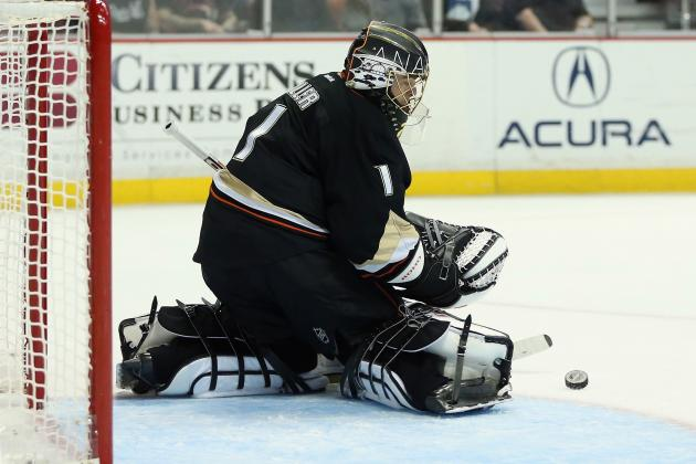 Hiller to Start Game 1 Tonight vs. Red Wings