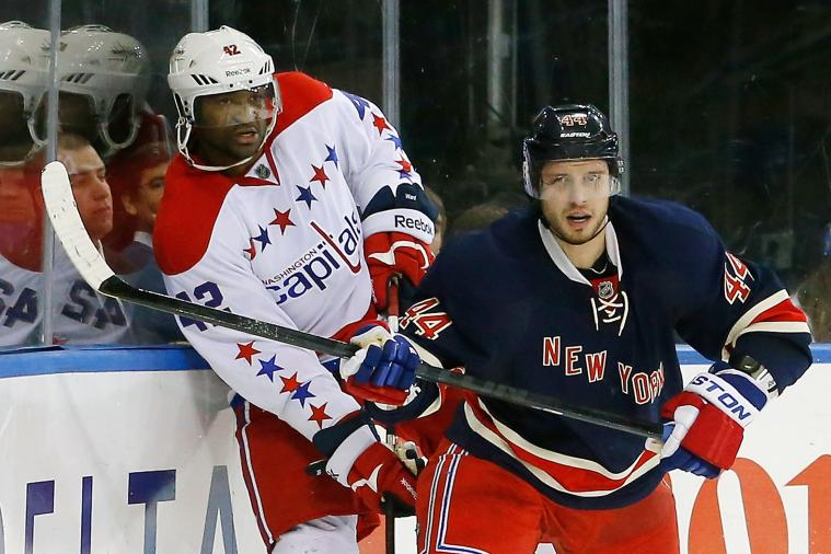 Barring Setback, Caps' Ward to Return for Game 1