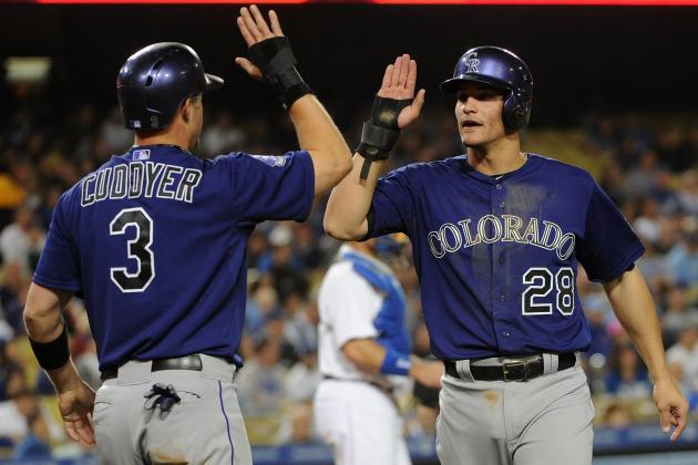 Rockies 12, Dodgers 2