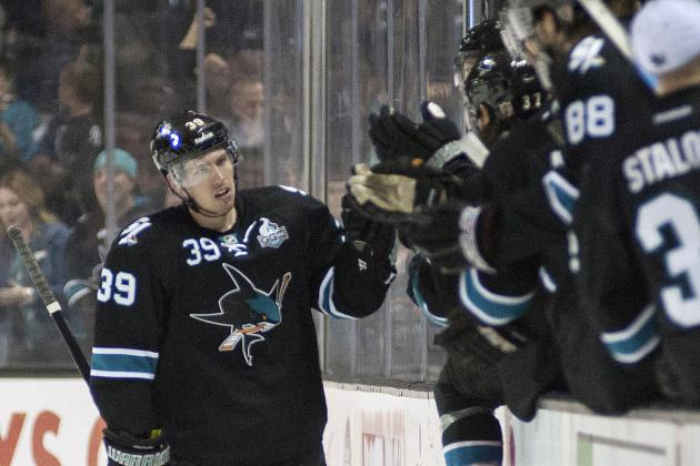 Sharks' Logan Couture Strengthens Status as Team Leader