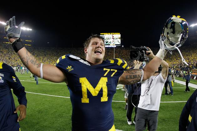 Michigan Wolverines' LT Taylor Lewan Is Top-5 Worthy Pick in 2014 NFL Draft