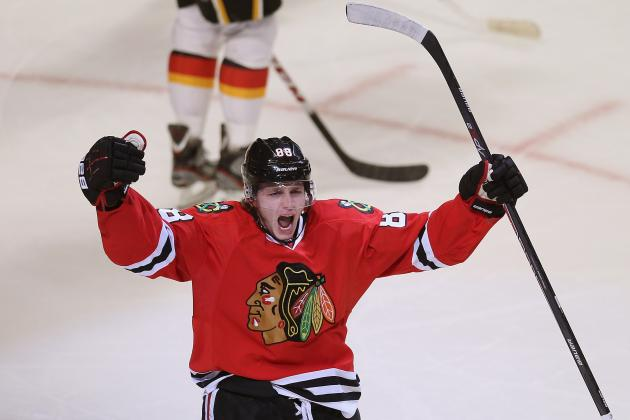 Chicago Blackhawks Playoff Schedule 2013: TV Info, Top Lines, Round 1 Prediction