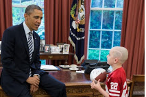 Jack Hoffman Meets Obama