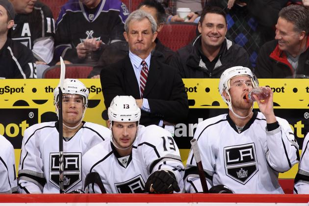 Sutter's Expected Line-Up for LA Kings in St. Louis