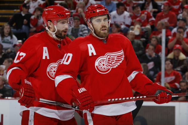 Detroit Red Wings Playoff Schedule 2013: TV Info, Top Lines, Round 1 Predictions