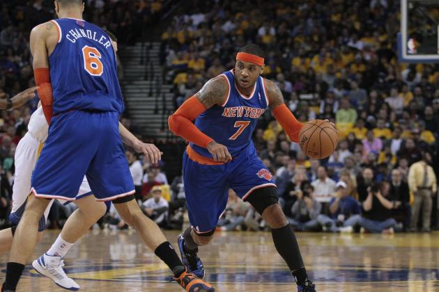 Will We See More Melo Pick-and-Rolls?