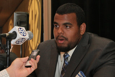 Lions Take UK's Warford with 3rd Pick of 3rd Round in NFL Draft