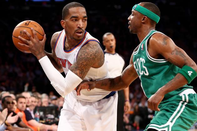 J.R.: Knicks Would've Swept If I Had Played