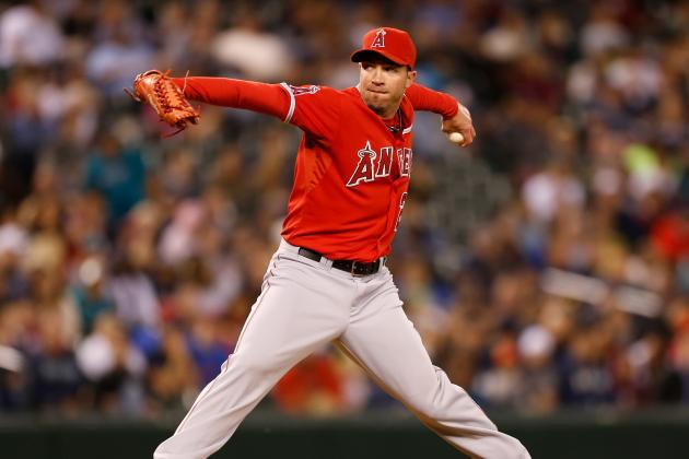 Angels' Reliever Sean Burnett Is Put on the Disabled List