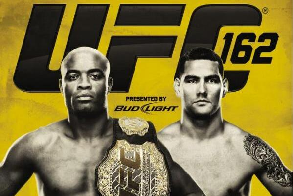 UFC 162: Anderson Silva vs. Chris Weidman Poster Released