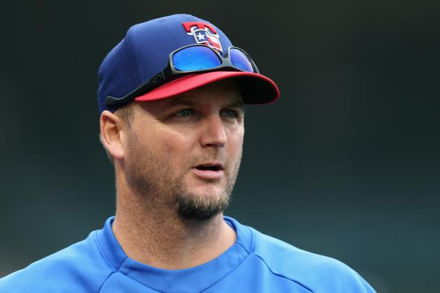 Pierzynski out of Tonight's Lineup vs. White Sox