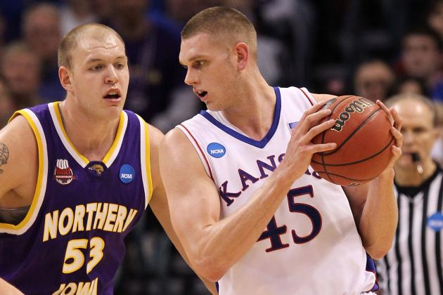 Former KU Center Cole Aldrich Will Graduate from KU in May