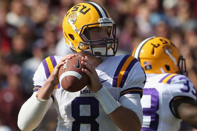 LSU Football: Comparing Anthony Jennings to Zach Mettenberger