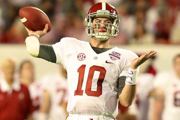 Breaking Down How Alabama QB AJ McCarron's Game Has Evolved