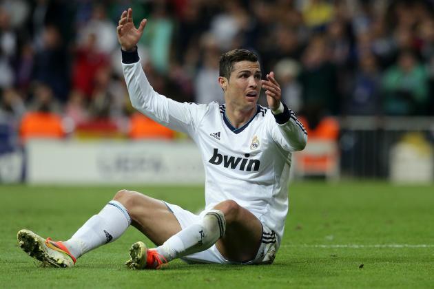 Real Madrids Cristiano Ronaldo Hurt by Borussia Dortmund Defeat