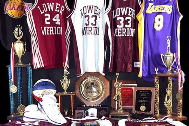 Kobe Bryant's Mom Auctioning off Tons of His Old Jerseys, Memorabilia