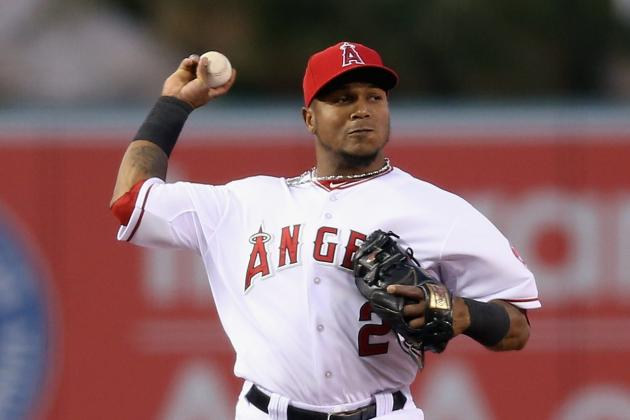 Aybar Batting Leadoff Tonight vs. A's