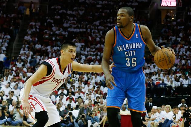 Grading Kevin Durant's First 2 Games Without Russell Westbrook