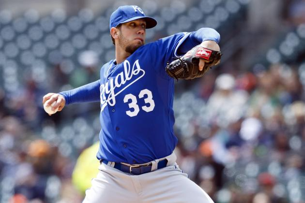 Royals Look to James Shields to Get out of Funk Tonight Against the Rays