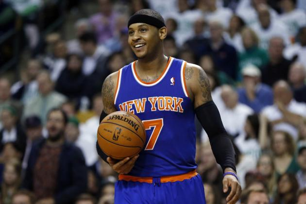 Carmelo Anthony Deserves to Be the NBA's Most Valuable Player