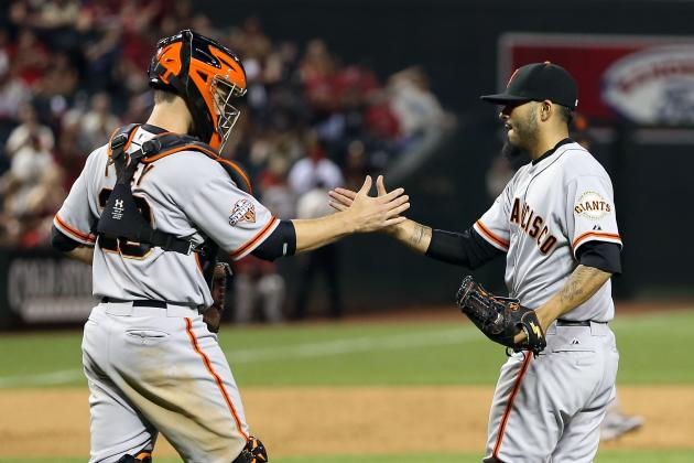 ESPN Gamecast: Giants vs Diamondbacks