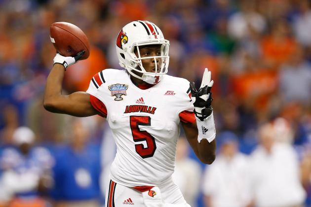 Breaking Down Teddy Bridgewater's Chance of Being No. 1 Pick in 2014 NFL Draft