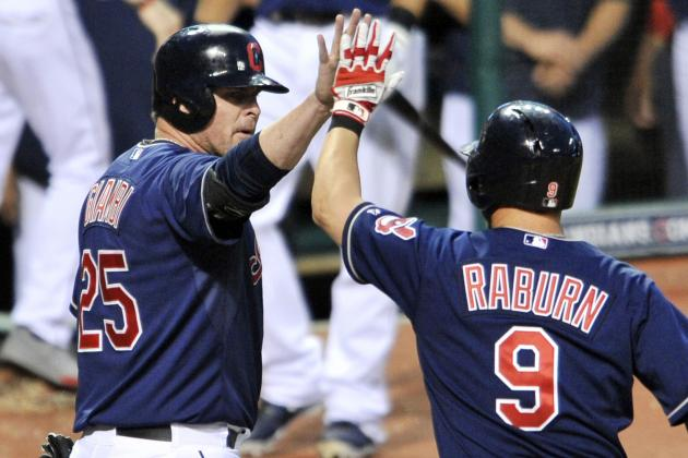 Indians Ride 7 Homeruns in Rout of Phillies