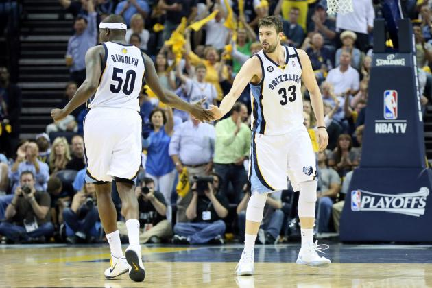 Meet Zach Randolph and Marc Gasol, the NBA's Odd Couple