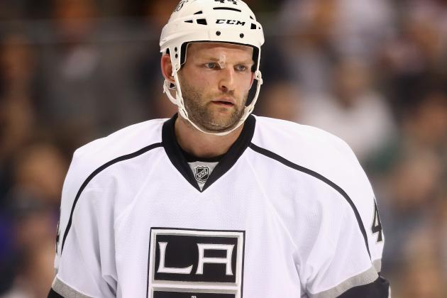 VIDEO: Robyn Regehr Returns to Game After Taking Skate to Face