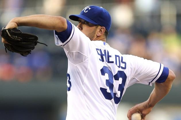 Shields Haunts Former Team as Royals Top Rays