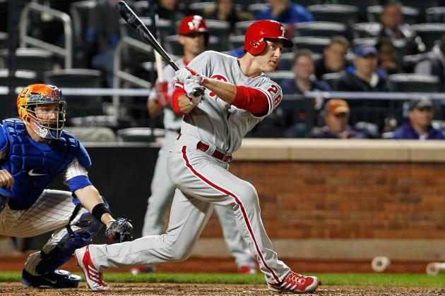 Philadelphia Phillies: Grades for Every Fightin' Phils Player in April