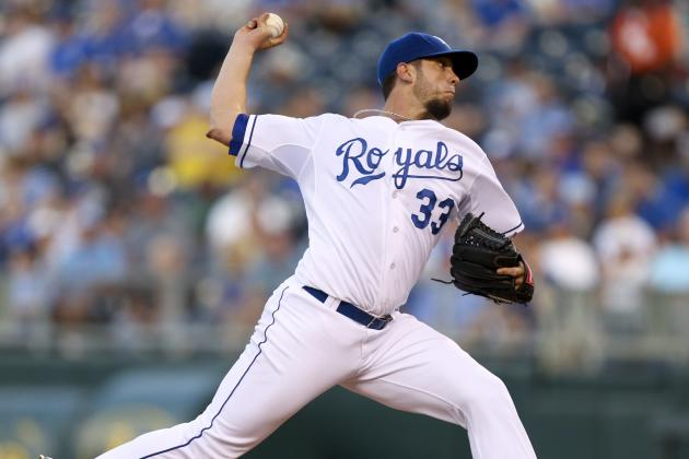James Shields Settles Down After Rough 1st Inning as Royals Beat Rays 8-2