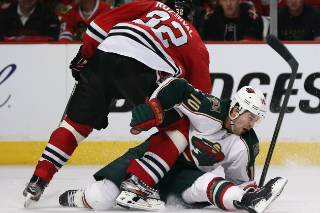 Bickell Scores in OT as Blackhawks Top Wild