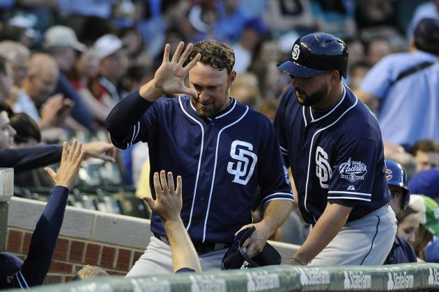 Padres Hit Three HRs, Rout Cubs 13-7