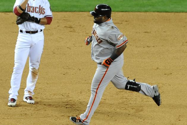San Francisco Giants beat Arizona Diamondback 2-1