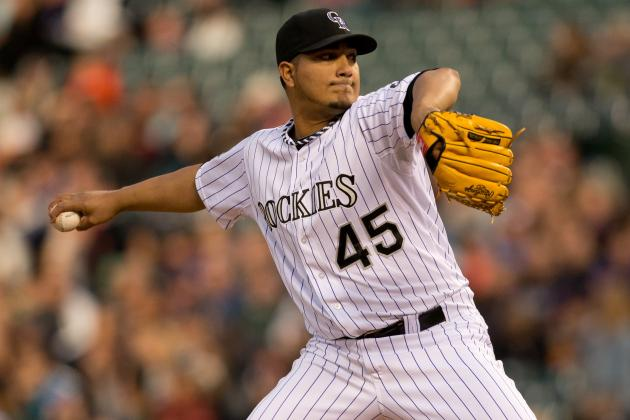 Rockies Expect Jhoulys Chacin to Start Sunday