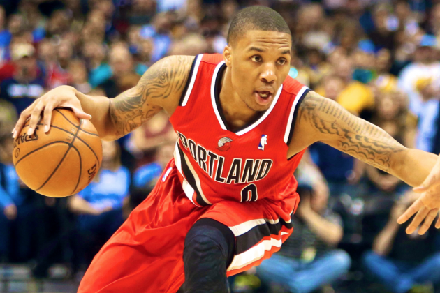 Damian Lillard Named 2012-13 NBA Rookie of the Year in Unanimous Vote