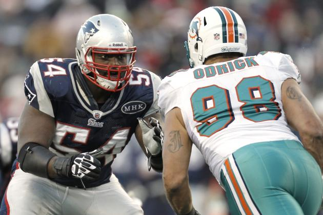 Brian Waters Released by New England Patriots